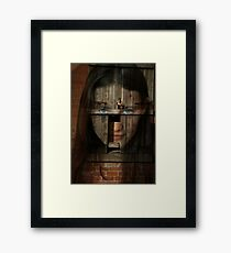 Altered by imperfection Framed Print
