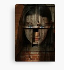 Altered by imperfection Canvas Print