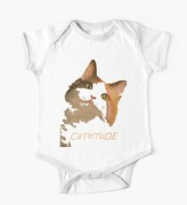 Cattitude - A Cat With Attitude One Piece - Short Sleeve