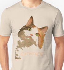 Cattitude - A Cat With Attitude Unisex T-Shirt