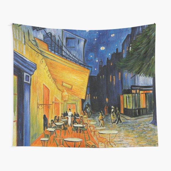Cafe Terrace at Night - Vincent Van Gogh Tela decorativa