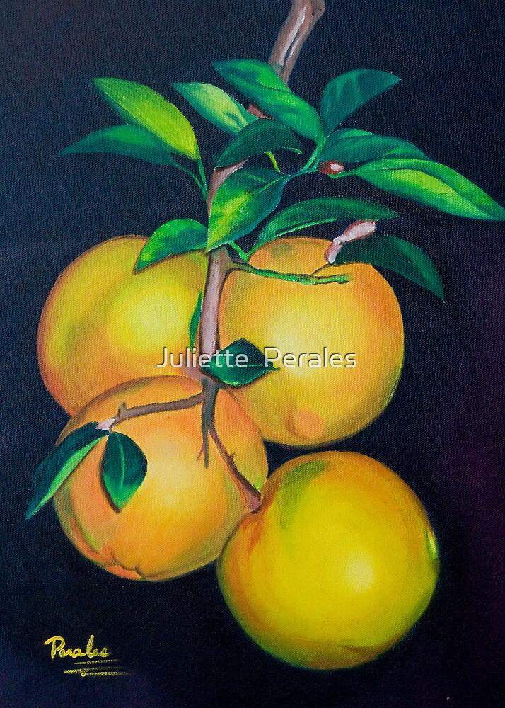 Fresh Orange Juice by Juliette Perales by Juliette  Perales