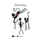 Chats de Danse by Trish Loader