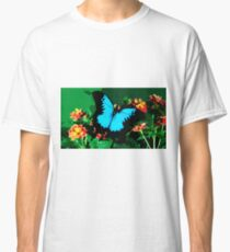 Wild nature - butterfly blue Classic T-Shirt
