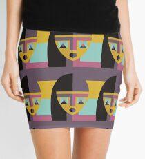Geometric model Mini Skirt