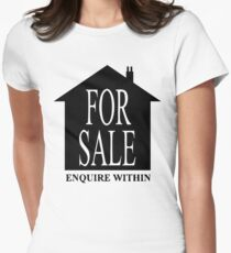 House for sale Women's Fitted T-Shirt