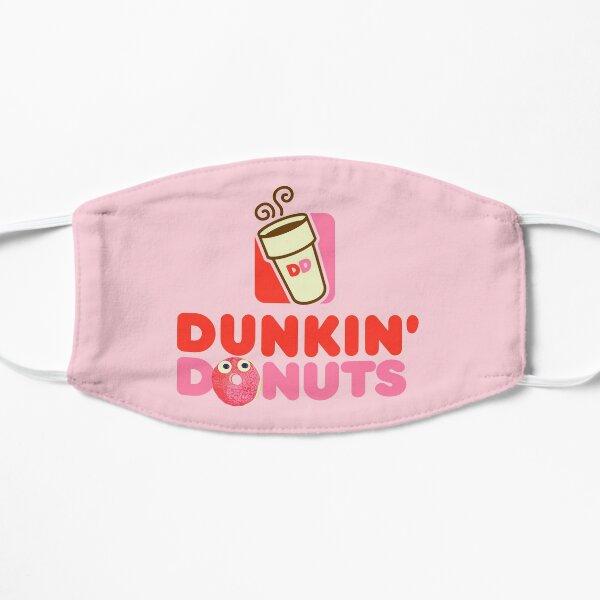 Pink logo Dunkin Donuts  Flat Mask