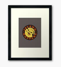 Island Hoppers /brown Framed Print