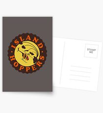 Island Hoppers /brown Postcards