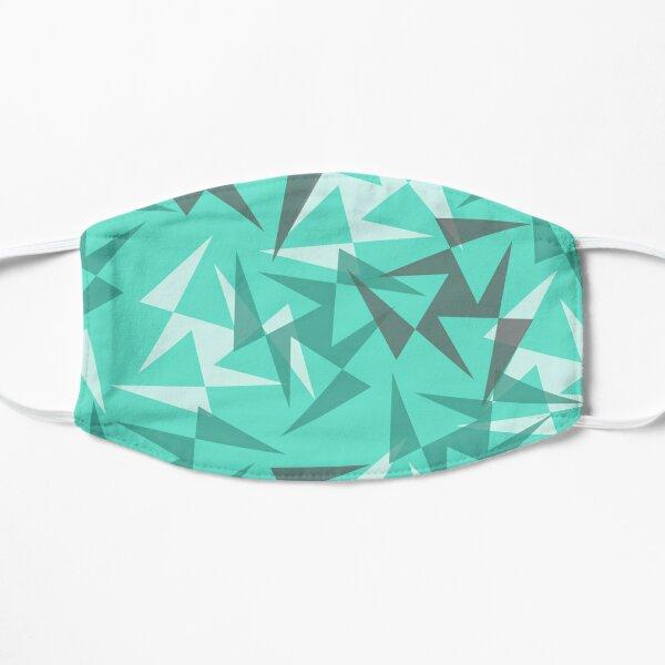 Geo Wheels - Aqua Flat Mask