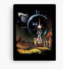 Multiverse Wars Canvas Print