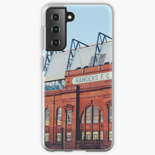 Ibrox Stadium at blue hour  Samsung Galaxy Soft Case