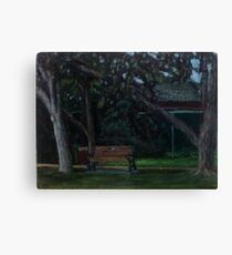 En Plein Air - Centenial Park, Newcastle, NSW - June 2012 Canvas Print