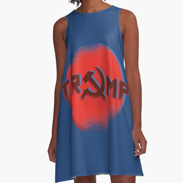 Trump Russian Style A-Line Dress