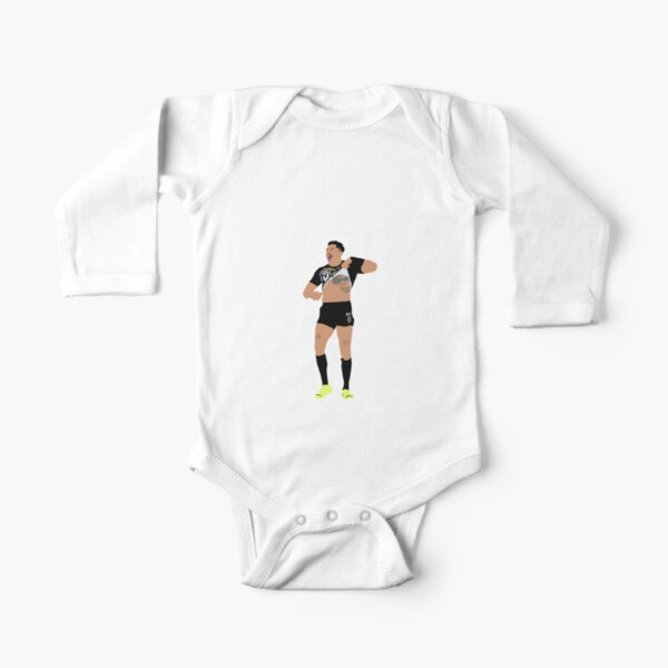 Josh Addo Carr Melbourne Storm NRL Long Sleeve Baby One-Piece