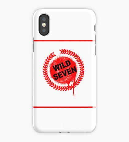 Wild Seven (clean) iPhone Case/Skin