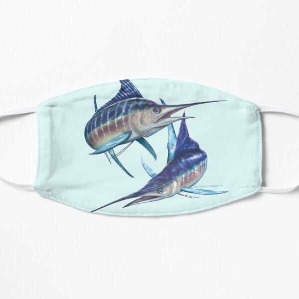 Striped Marlin Flat Mask