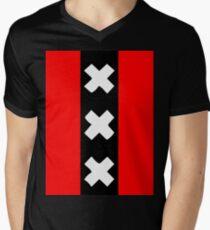 Amsterdam wapen Men's V-Neck T-Shirt