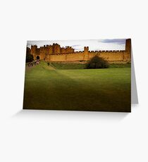 Alnwick Castle Greeting Card