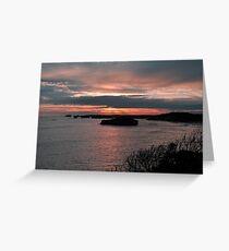 Bay Of Martyrs. Great Ocean Road, Victoria, Australia. Greeting Card