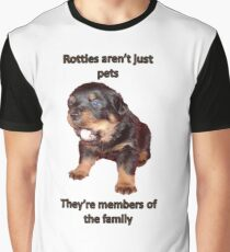 Rottweilers Are Not Just Pets Graphic T-Shirt
