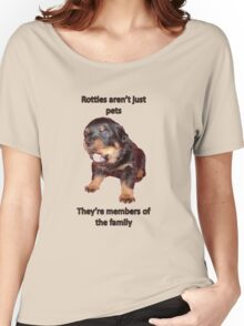 Rottweilers Are Not Just Pets Women's Relaxed Fit T-Shirt
