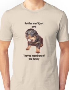 Rottweilers Are Not Just Pets T-Shirt
