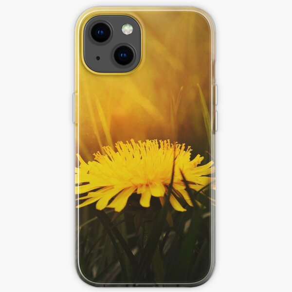 Dandelion In Summer iPhone Soft Case