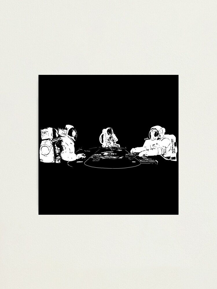 Alternate view of SPACE POKER Photographic Print