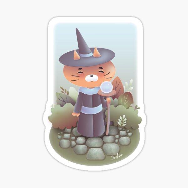 The cat'gician Sticker
