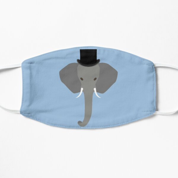 NDVH Elephant Wearing a Top Hat Mask