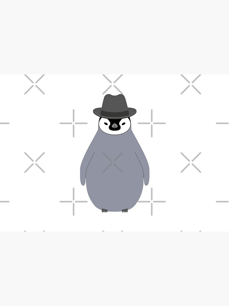 NDVH Baby Penguin Wearing a Homburg by nikhorne