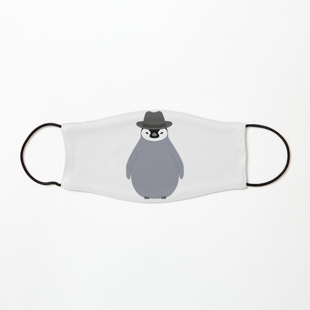 NDVH Baby Penguin Wearing a Homburg Mask