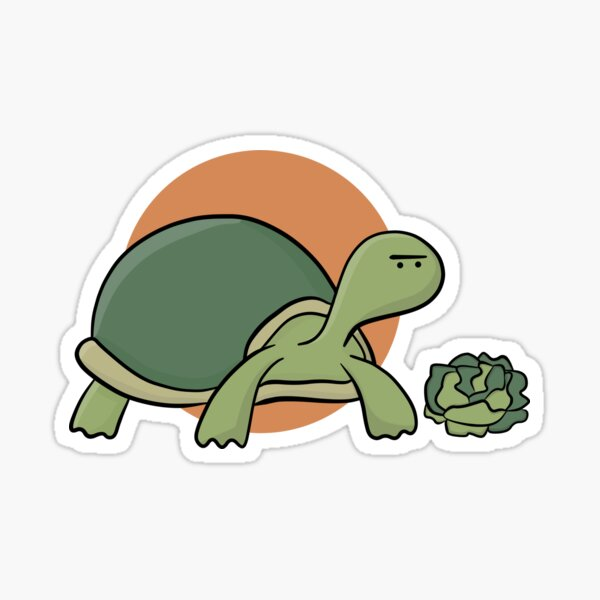 the single-eyed turtle. Sticker