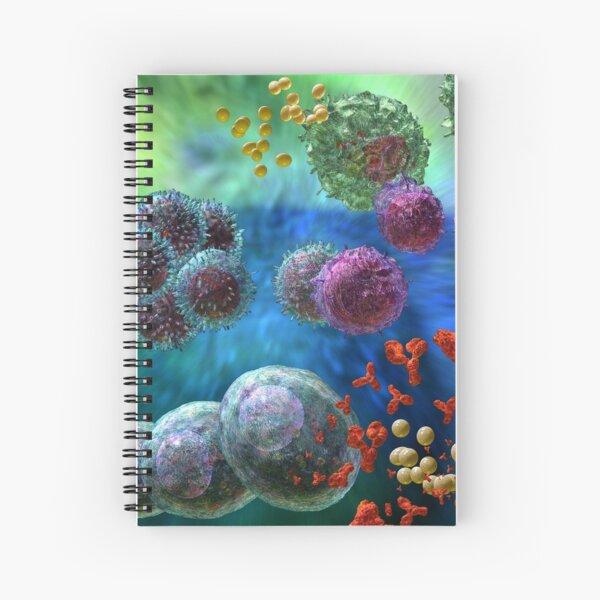 ANTIBODY IMMUNE RESPONSE Spiral Notebook