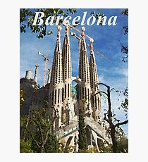 Barcelona T-Shirt Photographic Print