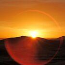Sunrise in the Sahara, Morocco by Debbie Pinard