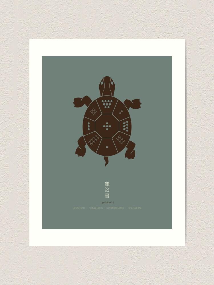 Alternate view of Lo Shu Turtle Art Print