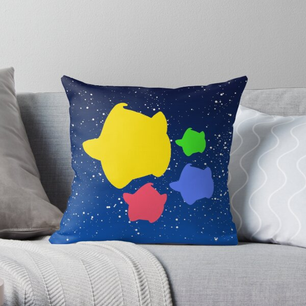 Lumas (amarillo, rojo, azul, verde) Cojín