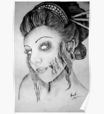 Beautiful Zombie Poster