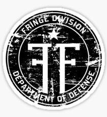 Fringe Division (dark print and stickers) Sticker