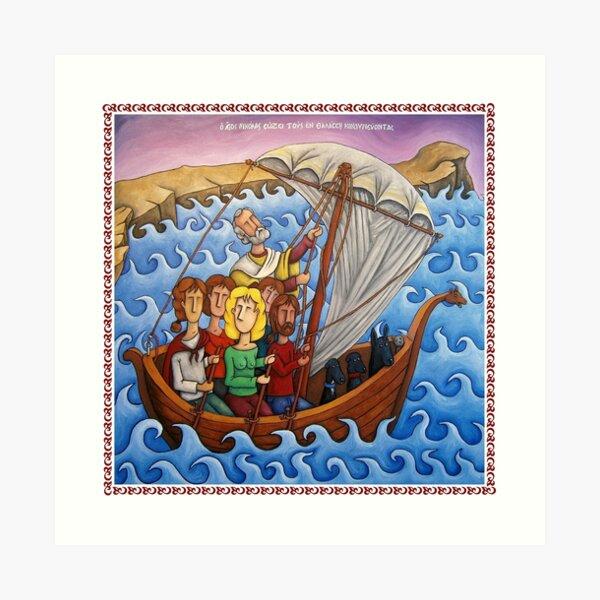 Saint Nicholas Art Print