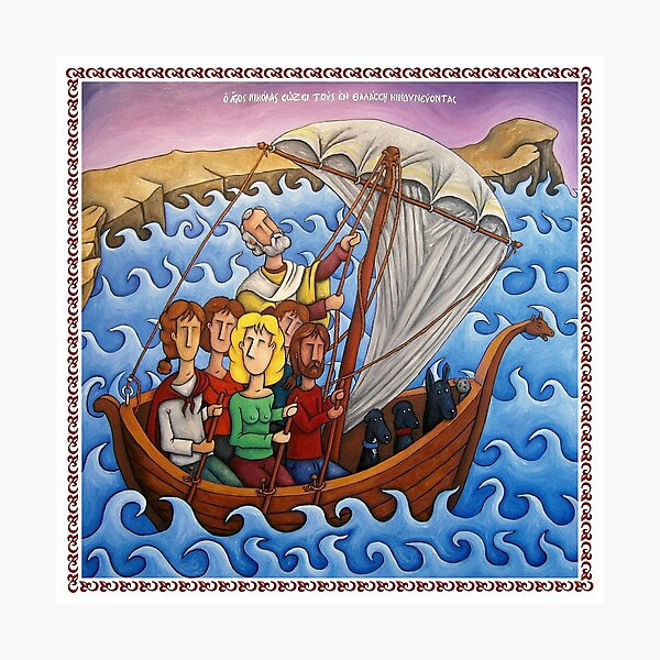 Saint Nicholas Photographic Print