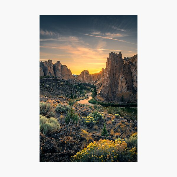 Smith Rock State Park Photographic Print