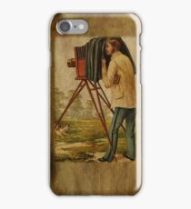 Vintage Photographers iPhone Case iPhone Case/Skin