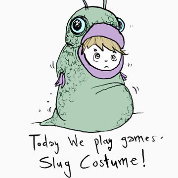 Slug Costume by ebonyjade