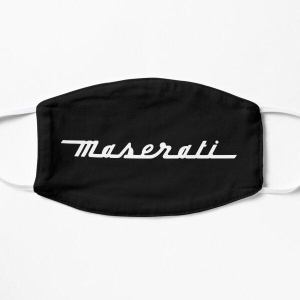 Logo Maserati blanc Masque sans plis