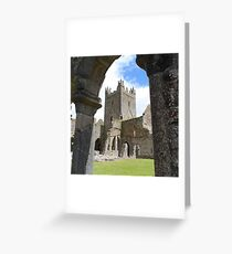 Jerpoint Abbey Greeting Card