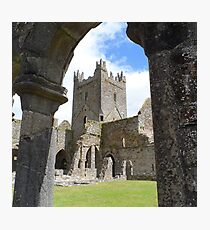 Jerpoint Abbey Photographic Print