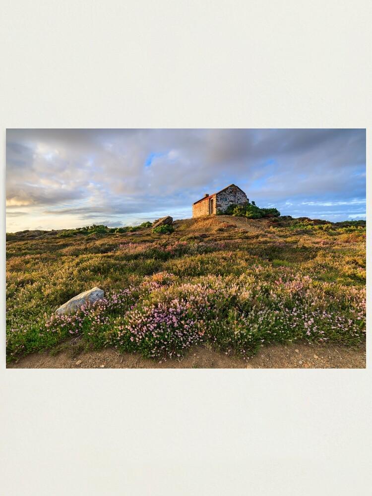 Alternate view of Tywarnhayle crib hut Photographic Print
